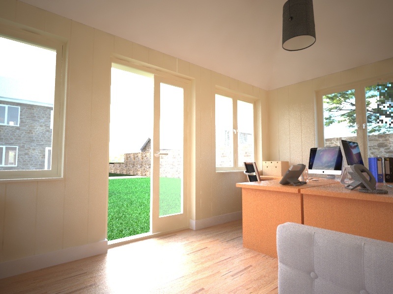 office cabins. You Want Your Garden Office To Be Comfortable Use All Year Round, So It Cabins
