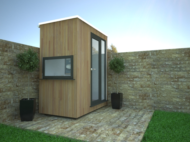 office garden shed. Smallest Garden Office 01 Shed L
