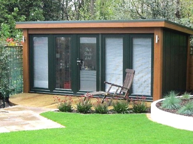 Garden office by Booths Garden Studios