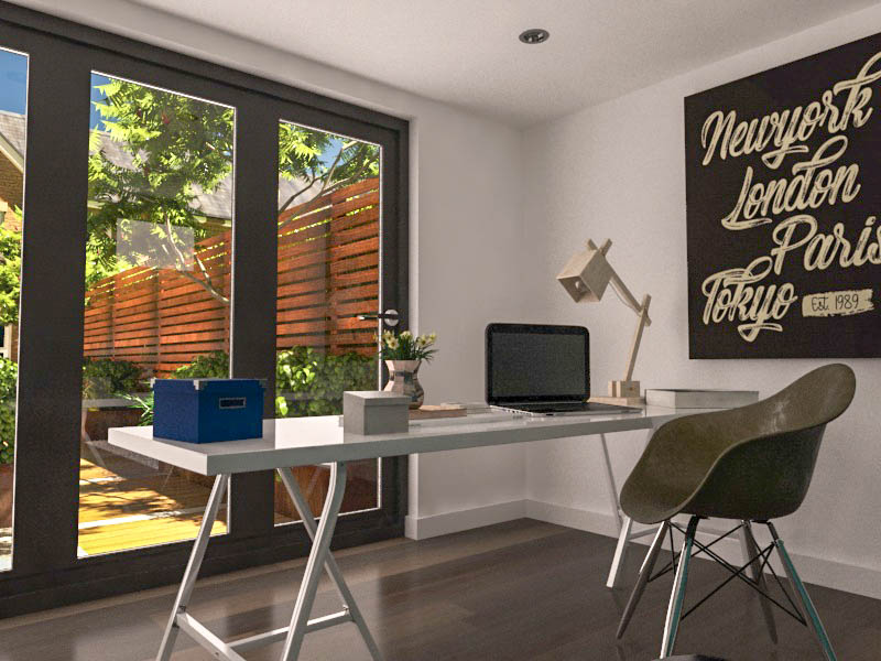 You can incorporate internet and telephone cabling into a garden office so you can connect with anywhere in the world.